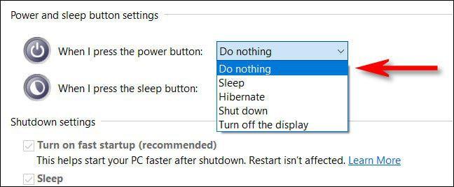 روش غیرفعال کردن دکمه Power در ویندوز 10