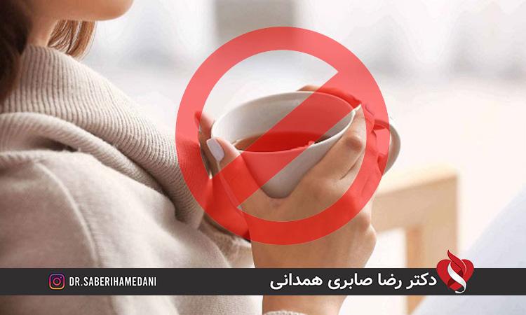 عوارض نوشیدن چای پررنگ